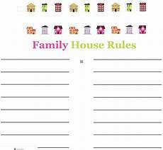 Rental House Rules Template 25 Basic House Rules For Families Amp How To Create Your Own