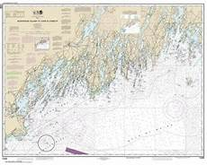 Butler Freeport Trail Mileage Chart Themapstore Noaa Chart 13288 Noaa Monhegan Island