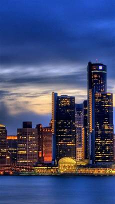 Iphone Wallpaper City Skyline by Detroit Iphone 5 Wallpapers Backgrounds 640 X 1136 The