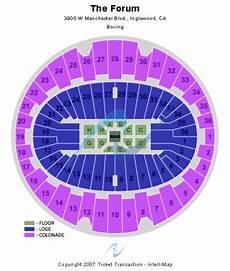 The Forum Inglewood California Seating Chart The Forum Tickets Inglewood California Seating Charts