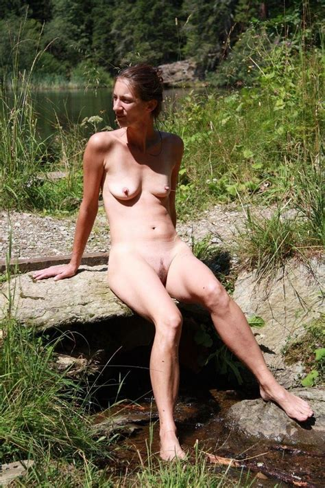 Girl Tied Naked Outdoors
