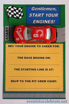 Free Printable Race Car Birthday Invitations Free Printable Invitations Army Car Racing Amp Swim Party