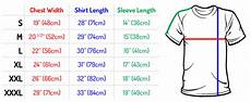 Shirt Size Chart Knit Fabric Consumption Formula For A Basic T Shirt