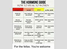 The HORMONE GUIDE HOW TO SPEAK TO WOMEN SAFEST DANGEROUS