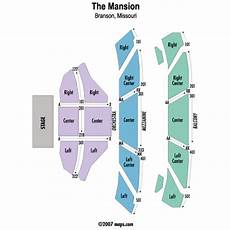 The Mansion Branson Seating Chart The Mansion Theatre Events And Concerts In Branson The