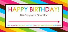 Free Lunch Coupon Template Free Printable Birthday Coupons Overstuffed