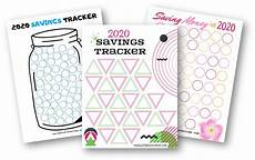 Money Saving Tracker 2020 Money Saving Challenges With Free Printables Hassle