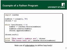 Python Programming Examples Very High Level Language So What Agile Practitioners