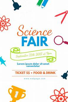 Science Fair Banner Template Copy Of Colorful Science Fair Flyer Template Postermywall