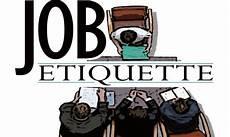 Job Etiquette Job Etiquette Arriva Il Galateo Da Scrivania