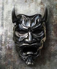 Demon Mask Designs Samurai Mask Etsy Google Search Oni Mask Japanese