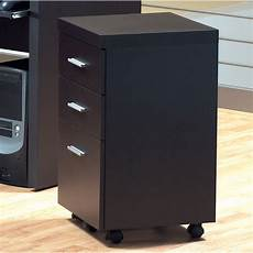 monarch specialties inc 3 drawer hollow mobile file