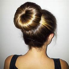 easy donut bun hairstyles to create neat image