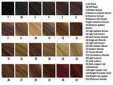 Reed Hair Color Chart Brown Hair Color Chart Coloring Hair And Hair
