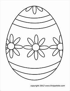 Malvorlage Osterei Din A4 Easter Eggs Free Printable Templates Coloring Pages