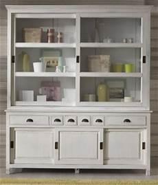 vetrine e credenze vetrina libreria 182x45x210 legno massello bianco shabby