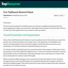 Online Resume Critique Is Your Topresume Com Resume Review Fact Or Fiction In