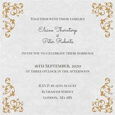 contoh undangan invitation formal dan informal