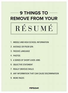 Skills To Have On A Resume 9 Things To Remove From Your R 233 Sum 233 Right Now Resume