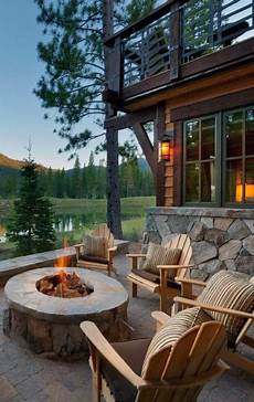 Back To Back Fireplace Design 70 Outdoor Fireplace Designs For Men Cool Fire Pit Ideas