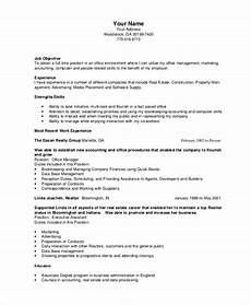 Bookeeper Resume Bookkeeper Resume Template 5 Free Word Pdf Documents