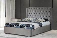upholstered usb grey bed frame and mattress set