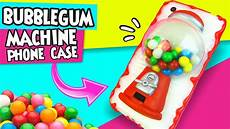 diy bubblegum machine phone step by step easy diy