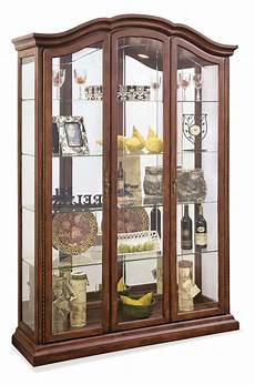 oxford large curio cabinet in cherry philip reinisch