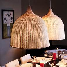 Ikea Woven Pendant Light Ikea Modern America Country Cage Rattan Pendant Light