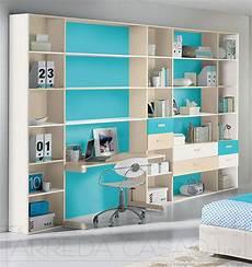 librerie camerette per ragazzi libreria per cameretta bambini con scrivania colori avorio