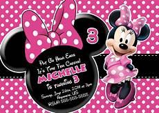 Free Printable Minnie Mouse Invitations Minnie Mouse Printable Birthday Invitations Free