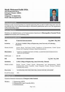 Mechanical Resume Samples For Freshers What Is The Best Resume Title For Mechanical Engineer