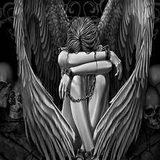 Female Angel Designs 60 Wonderful Fallen Angel Tattoos Amp Designs With Meanings
