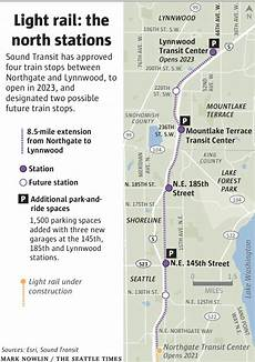 Day Pass Seattle Light Rail 4 North End Light Rail Stations Get Sound Transit S Green