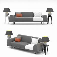 5 Ft Sofa 3d Image by 3d Model Portland 2 5 Seater Sofa Cgtrader