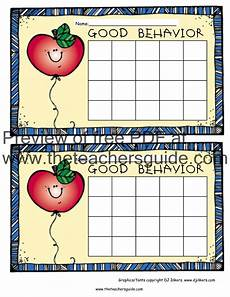 Good Behaviour Charts To Print Off Free Printable Reward And Incentive Charts