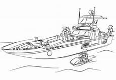 Ausmalbilder Playmobil Polizei Sek Ausmalbilder Polizeiboot 85 Malvorlage Polizei
