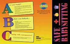 Babysitting Pamphlets Safe Babysitting Pamphlet Fire Safety For Life