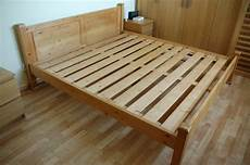 6ft king size solid pine bed frame in cambridge