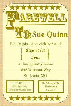 Farewell Invitation Samples Free 15 Farewell Invitation Designs In Ai