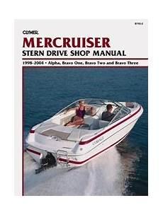 Mercruiser Manual Service Shop And Repair Manuals 1998