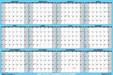 Write On Calendar 2020 Swiftglimpse 2020 Dry Erase Wall Calendar Planner