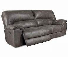 stratolounger stallion gray reclining sofa with images