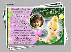 Tinkerbell 1st Birthday Invitations Personalized Tinkerbell Birthday Party Invitations Diy