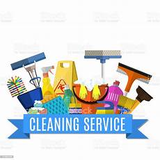 Cleaning Service Pictures Cleaning Service Flat Illustration Stock Vector Art Amp More