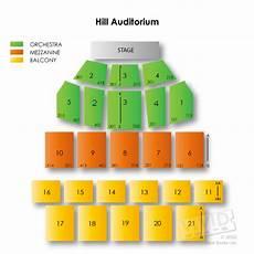 Seating Chart Hill Auditorium Arbor Hill Auditorium Seating Chart Vivid Seats