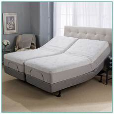 sleep number split king adjustable bed