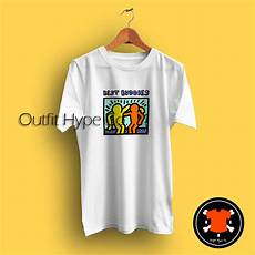 keith haring best buddies keith haring best buddies t shirt hype co