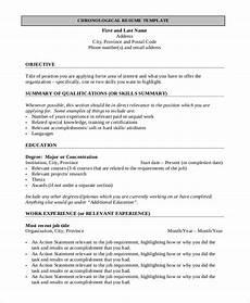 Resume Templates Pdf Format Free 9 Simple Resume Format In Ms Word Pdf