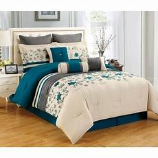 sameera california king size 7 embroidered comforter